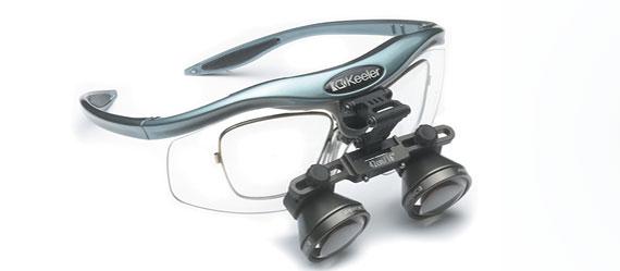 Ošetření lupovými brýlemi